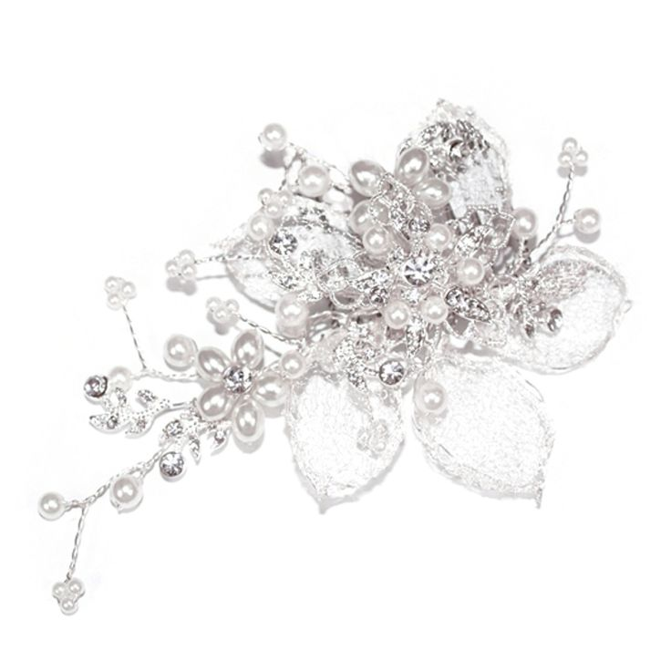 Aye Do Ltd - Magnolia Wedding Hairclip (ic), £49.00 (http://www.ayedoweddings.co.uk/magnolia-wedding-hairclip-ic/)
