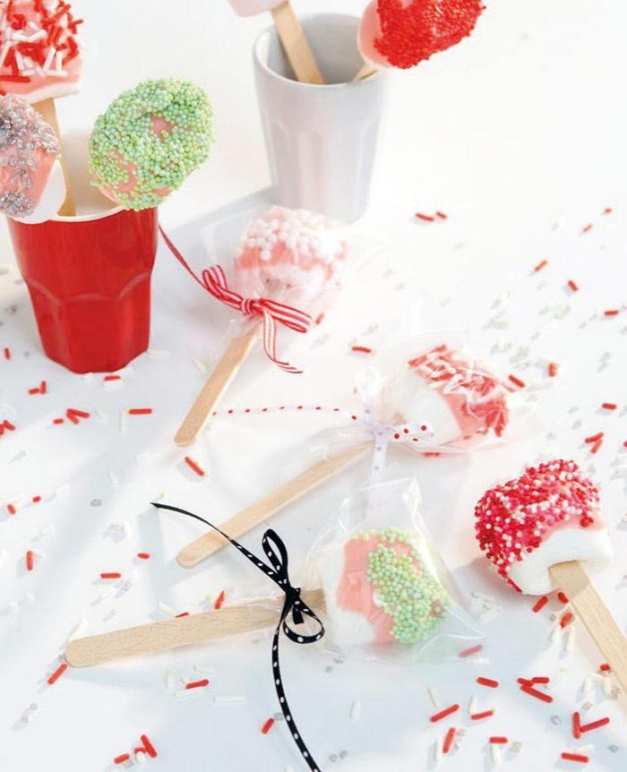 Traktatietip: feestelijke lolly's
