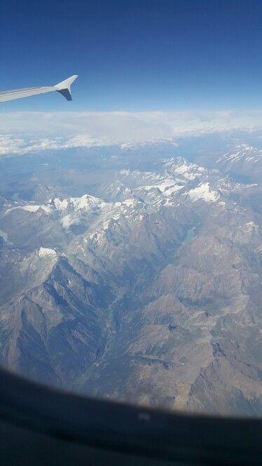 Cordillera de los Alpes, Europa central
