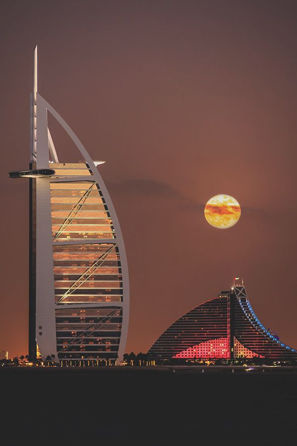 """ Moon Magic , Dubai - 