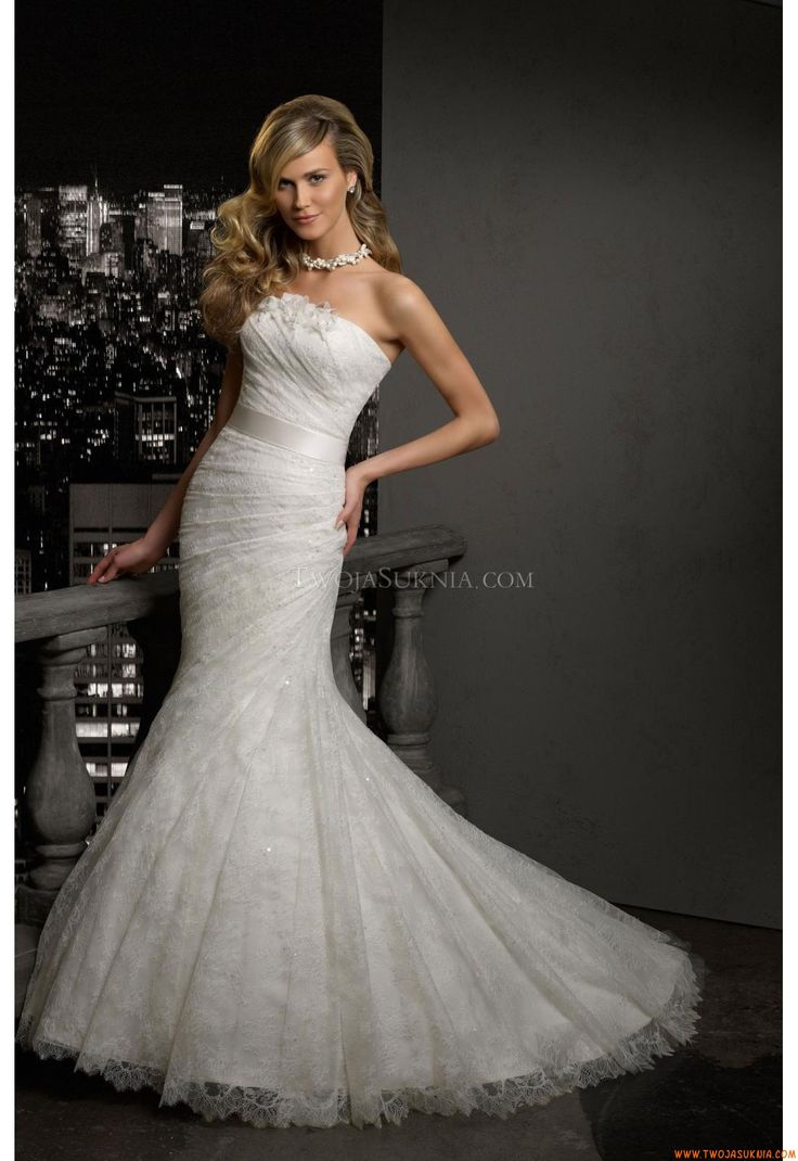 Strapless Mermaid Style New Arrival Wedding Dresses