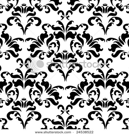Vintage black and white wallpaper
