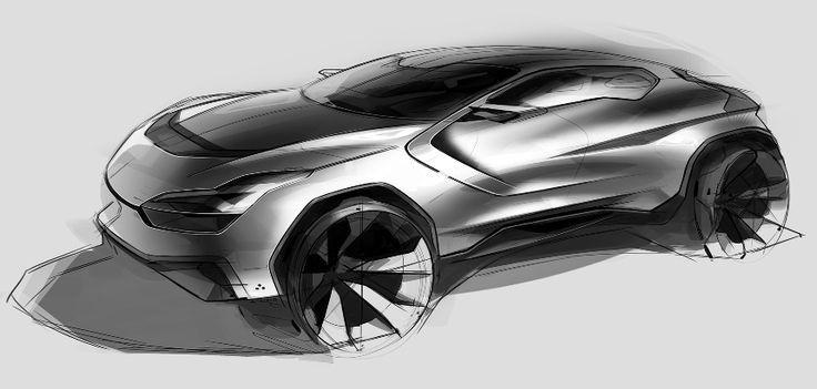 Random car sketch