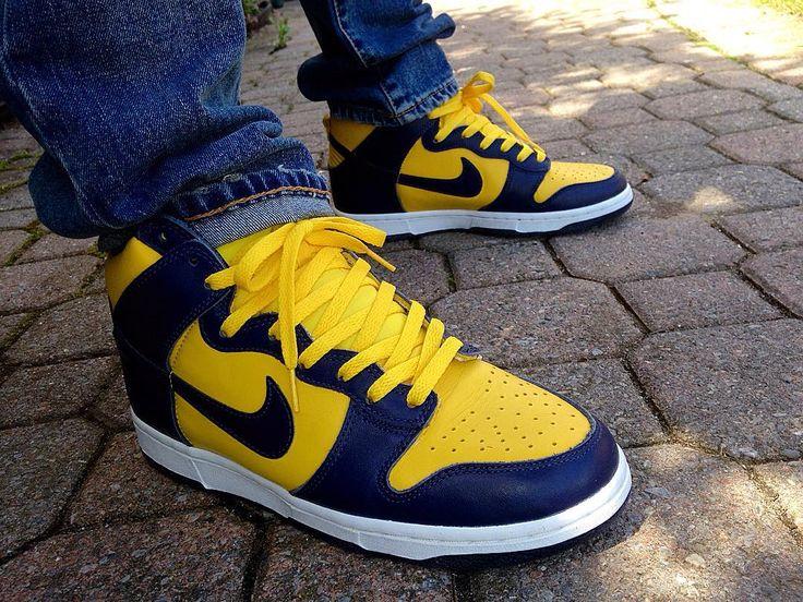 "Nike Dunk High Pro SB ""Michigan"""
