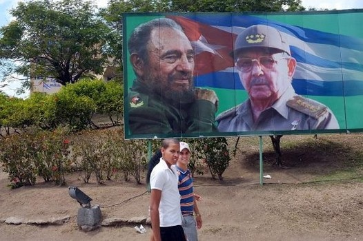 """""""Fidel Castro and his revolution are still alive"""" is at  http://exm.nr/YMxfFA"""