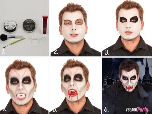 Maquillage Vampire adulte