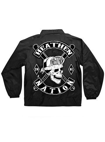Men S Quot Heathen Nation Quot Wind Breaker By Heathen Clothing