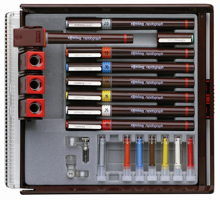 rotring ink pens, Wow I remember these as a kid