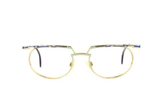 28a6705ebf Eyeglasses Vintage ESSILOR metal frame gold colorful oldschool retro .