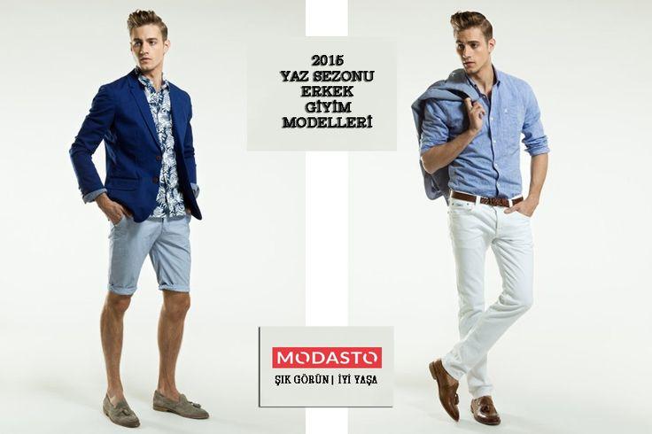 Modasto öncü markaların birbirinden şık ve kaliteli 2015 Erkek Yaz Giyim Modellerini Sizler İçin bir araya topladı. Giyimde trend olmak şimdi çok daha kolay ve ucuz.