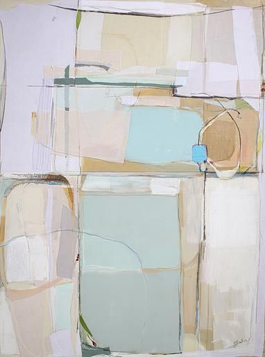 Karin Olah, fabric and mixed media