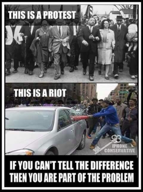 What a bunch of loosers...no body is against a peaceful protest, but why do we would allow this???