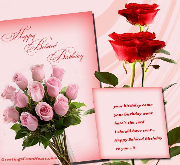 The 25 best Belated birthday greetings ideas – Greetings.com Birthday