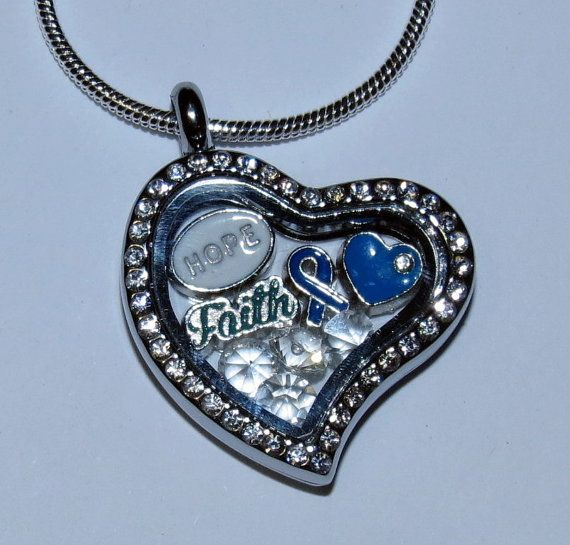 Depression/Mental Health Awareness Glass Floating Charms