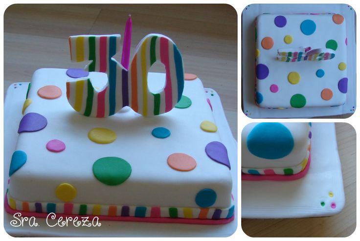 Colores! - Torta de 30 años