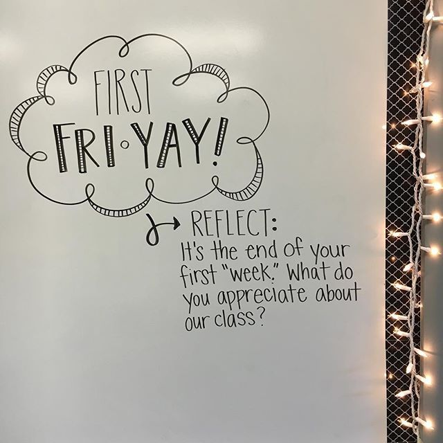 First FRI-YAY of the year! . . . #iteachtoo #iteachfifth #teachers…