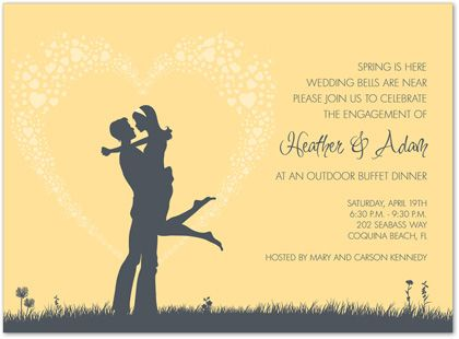 23 best images about Engagement Invitations on Pinterest