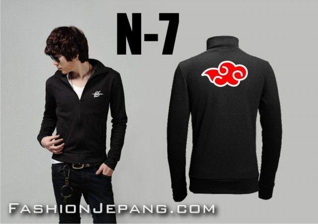 Jual Jaket Anime Naruto - N-7.