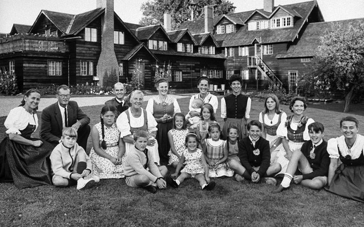 What Happened to the Real von Trapp Family?  - The family left Austria for Italy (not Switzerland) in June 1938. That fall, they arrived in New York under six month visitors' visas and began a concert tour in Pennsylvania. In 1944, several of the von Trapps applied for U.S. citizenship at the U.S. District Court in Burlington, Vermont.