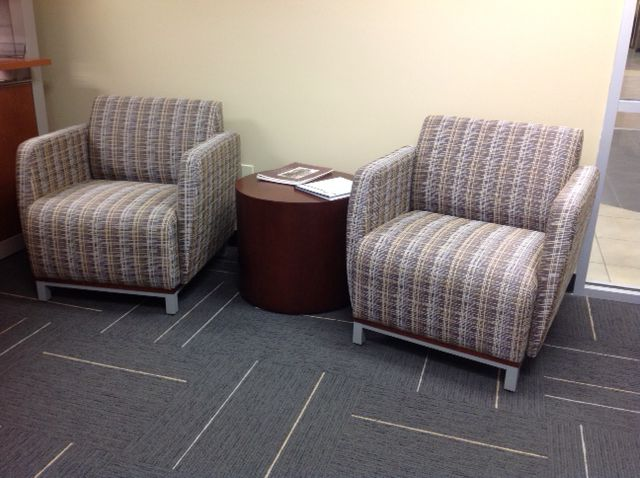 Wichita State University KS Swift Lounge Seating With Myriad Side Table In