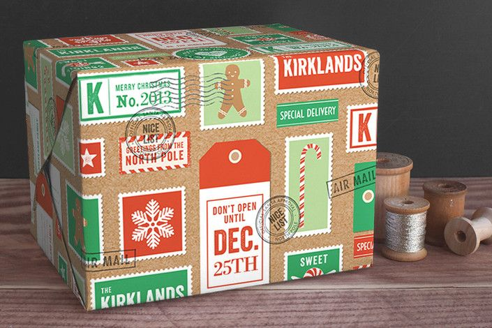 Add a personal touch to your holiday gifts with custom wrapping paper. Shop Sweet Delivery Wrapping Paper at Minted.com