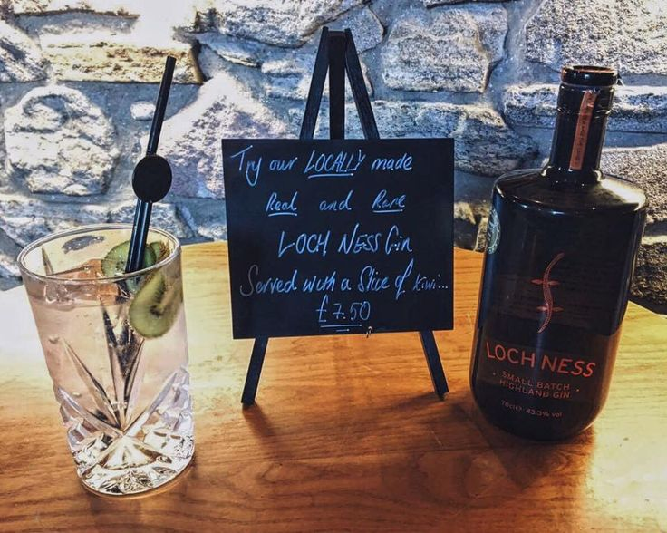 Loch Ness Gin - Great with a slice of kiwi served with Fever Tree tonic