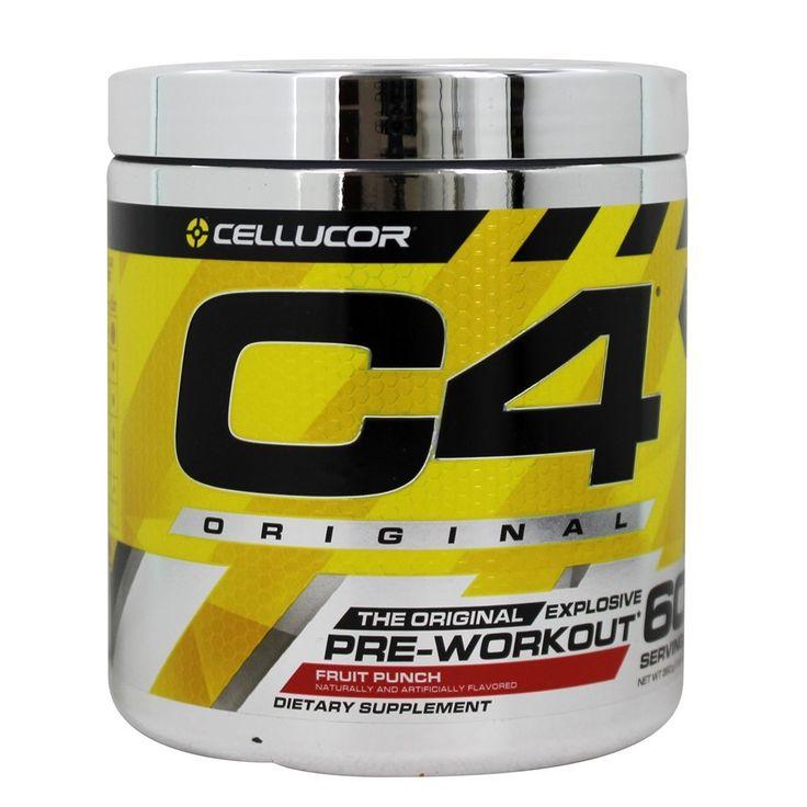 Cellucor C4 PreWorkout Explosive Energy Fruit Punch 60