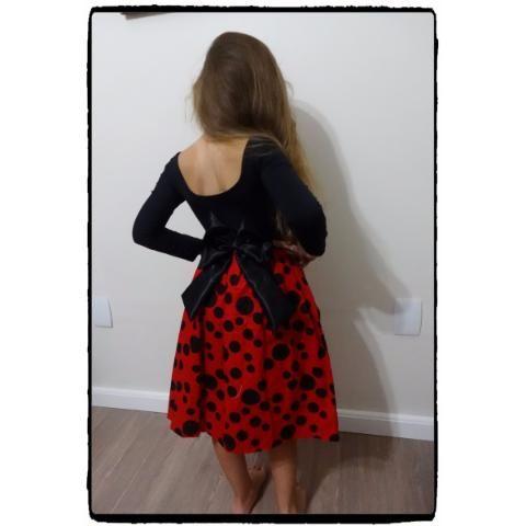 Vestido Miraculous Ladybug