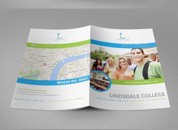 17 best images about 25 contoh brosur sekolah pendidikan for College brochure templates free download