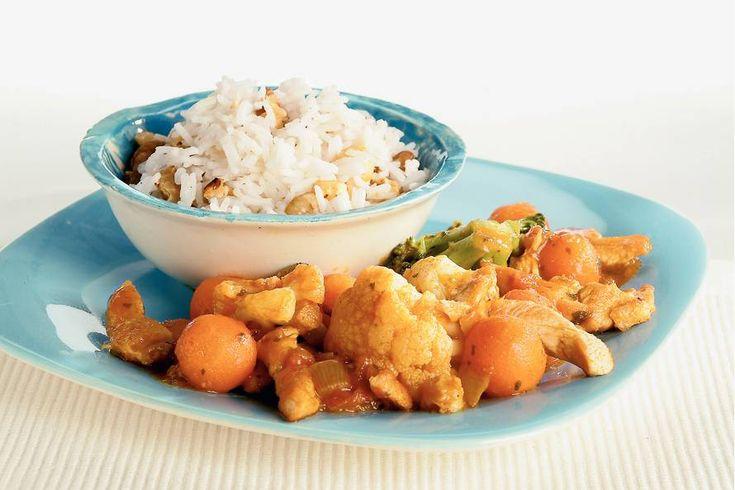 Tikka masala met notenrijst - Recept - Allerhande