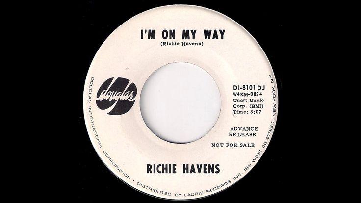 Richie Havens - I'm On My Way [Douglas] 1968 Psych Folk Gospel Soul 45