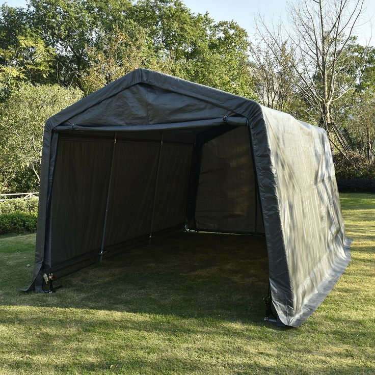 10x10x8ft Auto Shelter Portable Garage Shed Canopy Carport