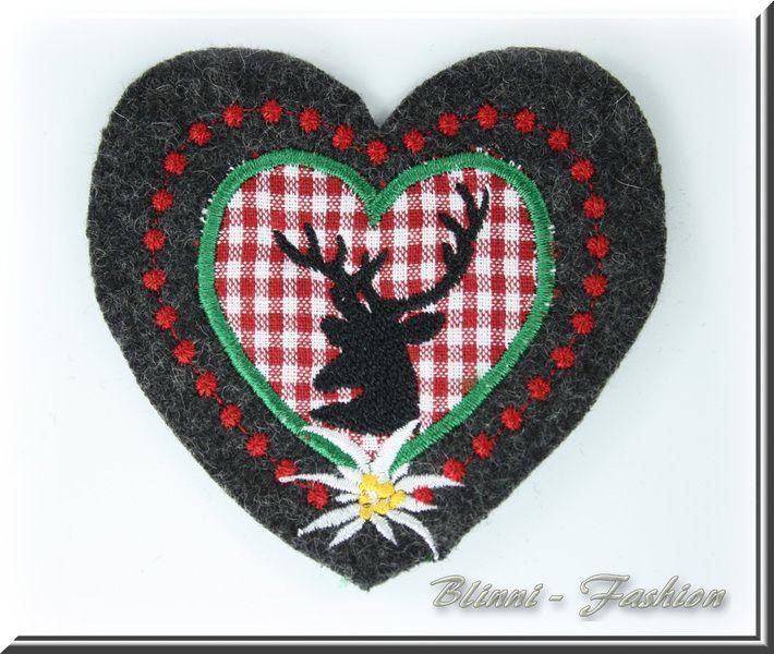 Hirsch im Herz