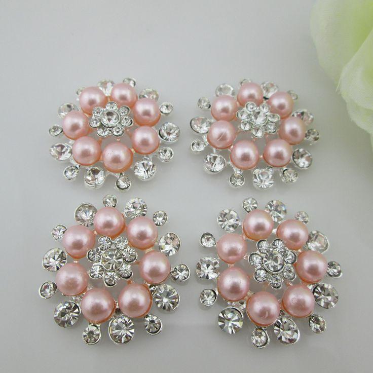 (Bt13 33mm) 10 pz vendita calda trasparente di cristallo rosa perla flatback strass pulsanti per l'artigianato in (Bt13 33mm) 10 pz vendita calda trasparente di cristallo rosa perla flatback strass pulsanti per l'artigianatoda Pulsanti su AliExpress.com | Gruppo Alibaba