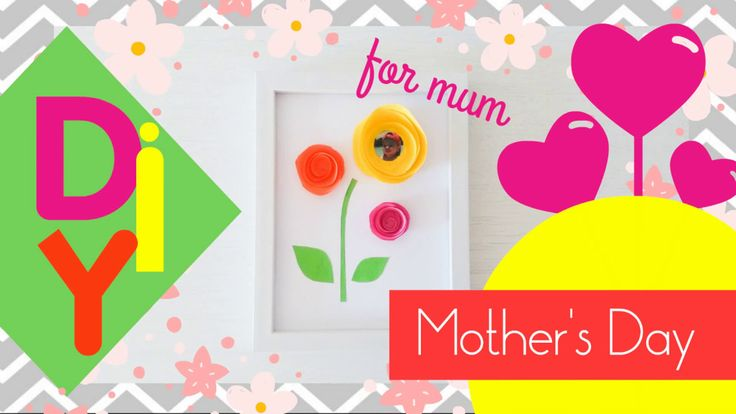 Mother's s Day 3D Flowery Photo Decoration