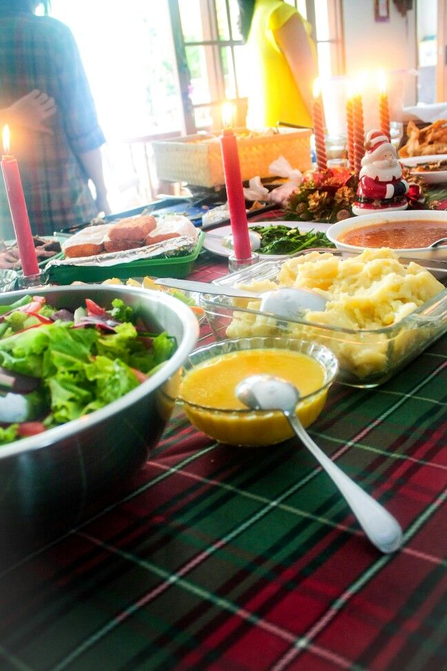 Christmas lunch family gathering 2014