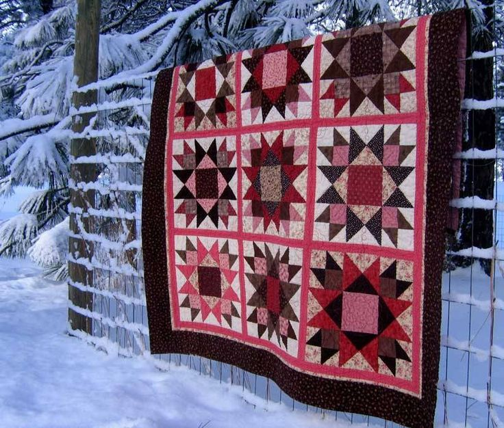 union star: Baby Quilts, Brown Quilts, Quilts Stars, Quilt Americana Stars, Quilts Star Quilts, Black Quilts