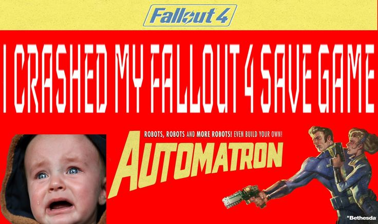 Recover you missing mod corrupted Fallout 4 save game with F4SGE