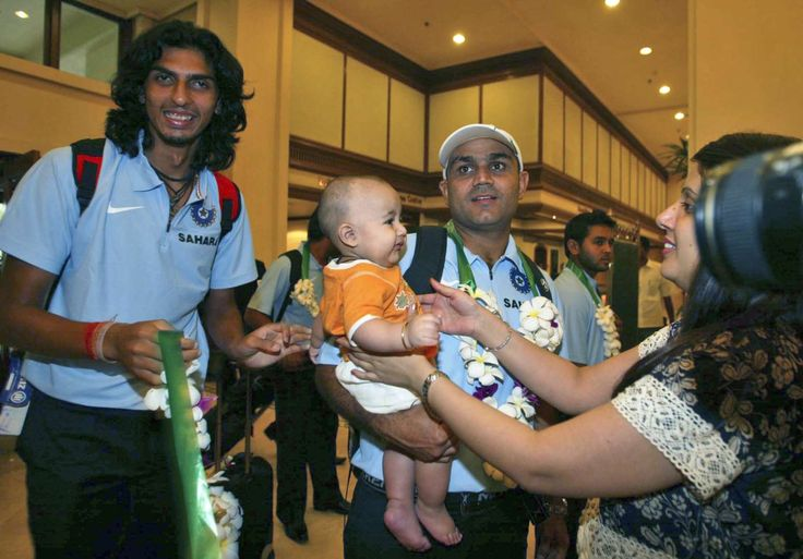 Virender Sehwag: Rare and unseen images - AP Photo