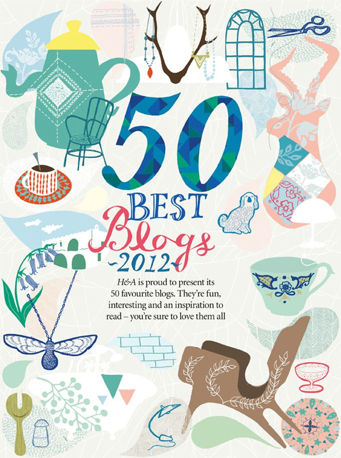 50 Best Blogs, Home and Antiques Magazine, 2012