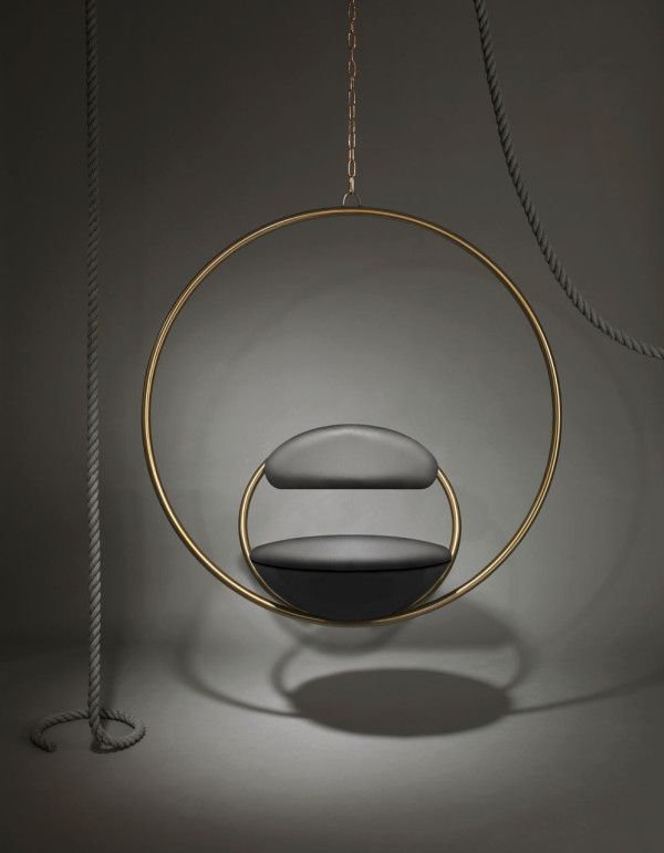 Simple circle chair by Lee Broom #DesignPorn