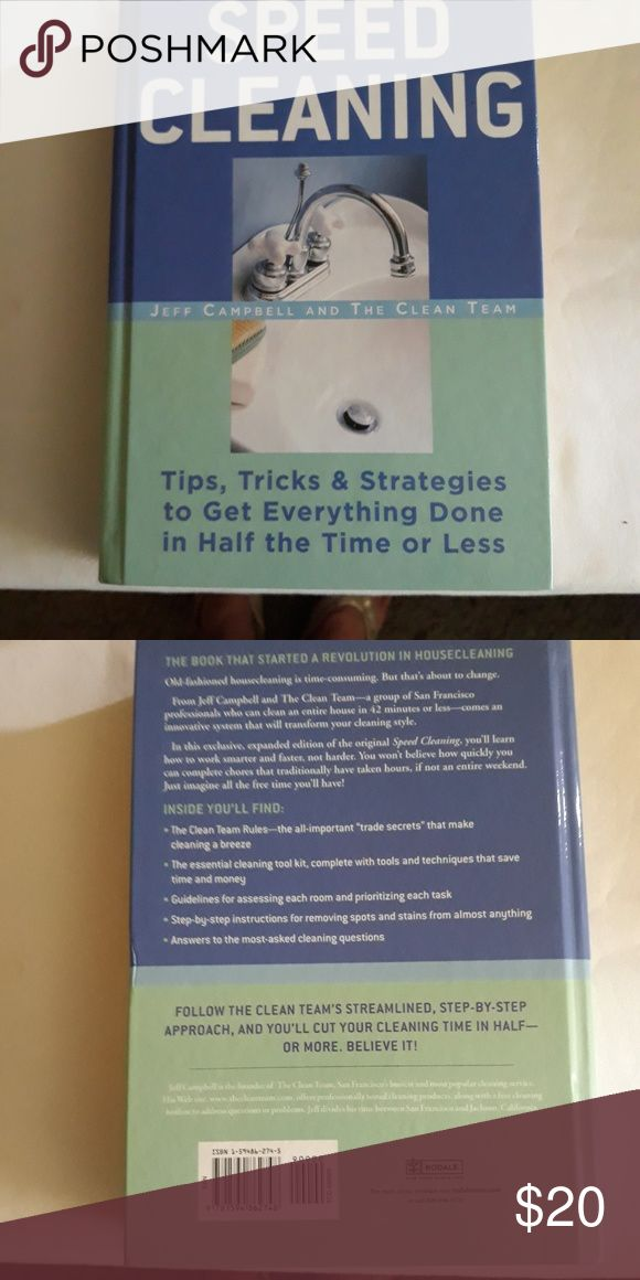 Book Speed Cleaning Tips, tricks & strategies to get everything done in half the…