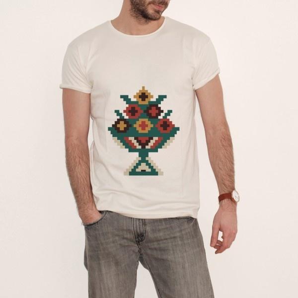 T-shirt 2/UFOlk Color by Culture Soup