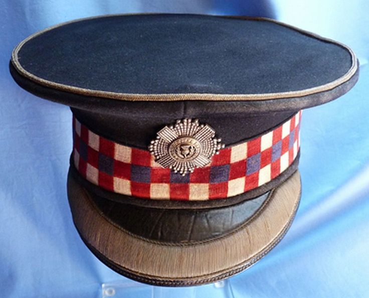 Ultra RARE WW1 British Scots Guards Officer's Dress Cap