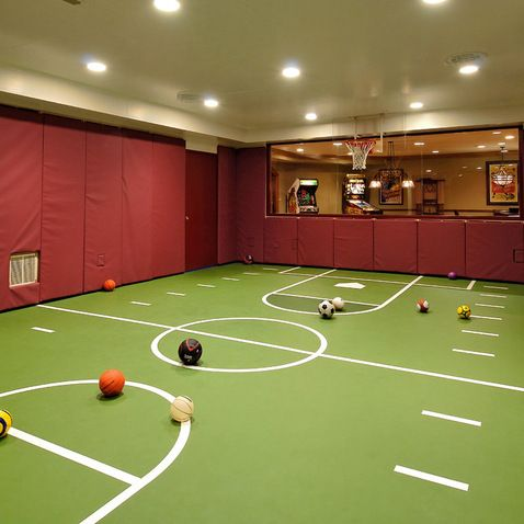 Kid Friendly Basement Design Ideas, Pictures, Remodel, and Decor - page 2
