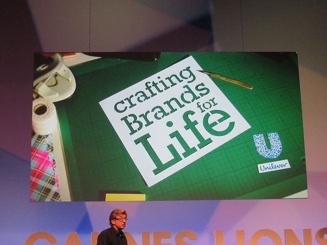 Crafting Brands for Life - Unilever #CannesLions 2012, via Flickr.