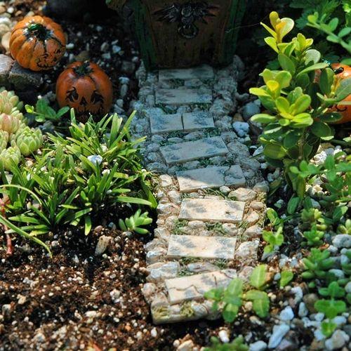 Miniature Stone Pathway