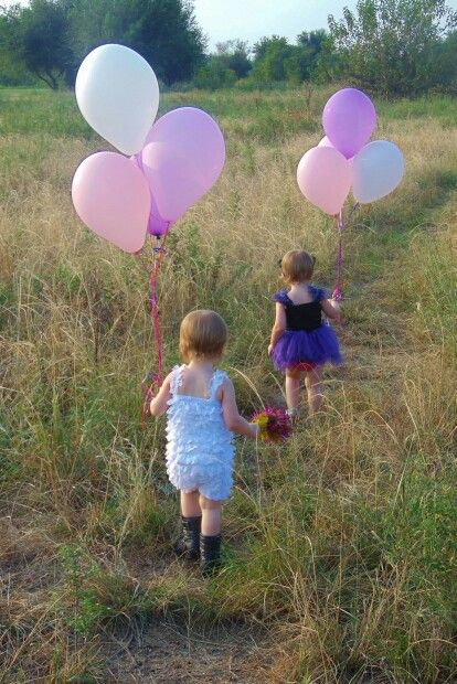 Twin toddler girl Photography