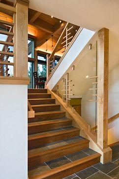 Fliesentreppe, Einstiegstreppe, Treppenspeicher, Treppe Ideen, Ideen  Geländer, Haus Umbau, Bannister, Innendekoration, Treppe