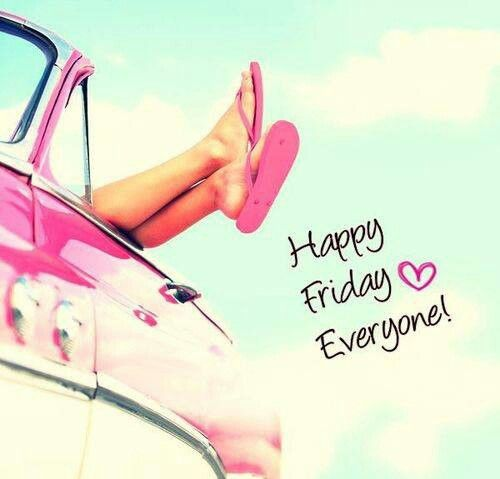 Happy Friday Everyone! ♥♥♥